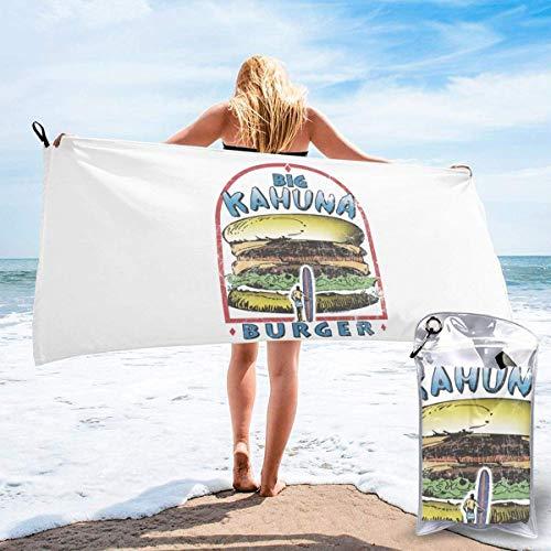 Toalla de Playa Pulp Fiction Toallas de baño de Microfibra Suave súper Absorbente y de Secado rápido Uso Multiusos para Viajes Deportivos Fitness Yoga