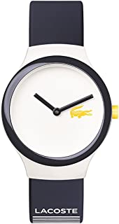 Lacoste Casual Watch For Unisex Analog Silicone - 2020124