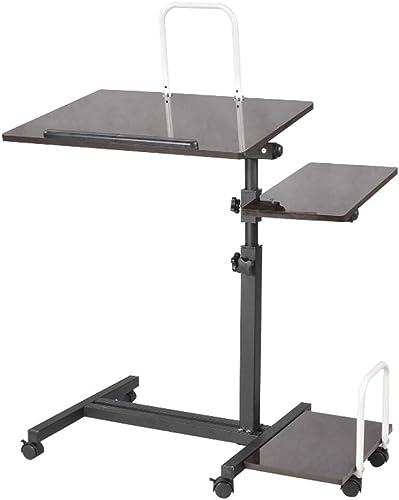 Table pliante ZB Lit De Bureau Mobile à La Maison Simple Bureau D'ordinateur Ascenseur De Chevet Bureau D'ordinateur Pliant Paresseux A+ (Couleur   A)