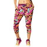 Zumba Fitness So Samba Harem Dance Pants Pantalón, Mujer, Oro, L