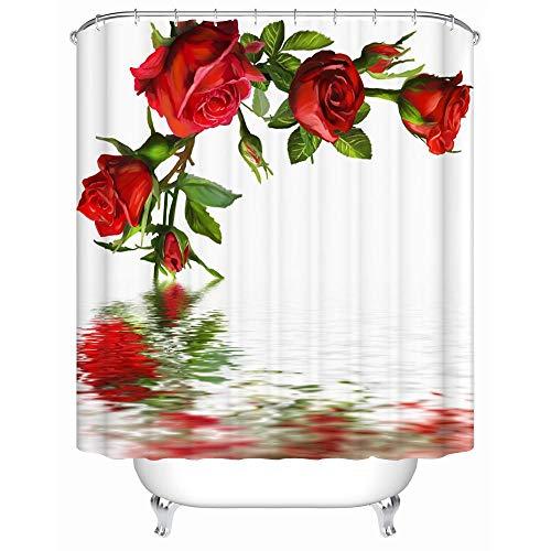 cortinas ducha rosa palo