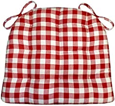 Best red and white chair cushions Reviews