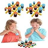 (Big Eat Small) Tic-Tac-Toe-Spiel Gedächtnisfähigkeiten und strategisches Denken Brettspiele Eltern-Kind-Früherziehung Spielzeug, interaktive Desktop-Neuheit Spielzeug
