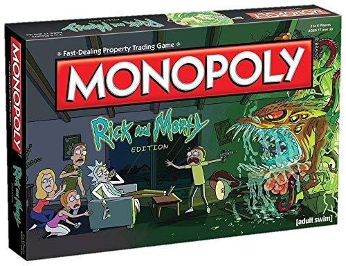 Monopoly Rick & Morty, Mehrfarbig (Eleven Force 8436573610506)