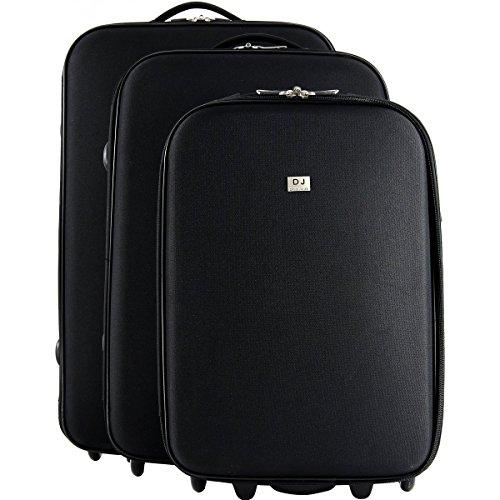 Lot de 3 valises souple dont une cabine Ryanair David...