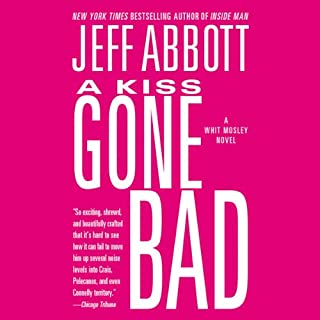 A Kiss Gone Bad audiobook cover art
