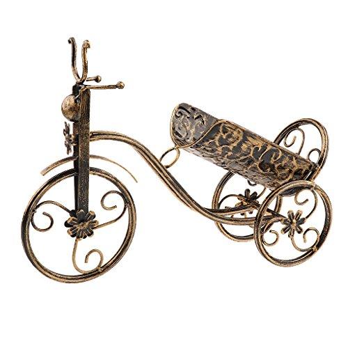 H HILABEE Soporte de Estante de Vino Tinto para Bicicleta Soporte de Botella de Champán Estante de Almacenamiento Decoración de