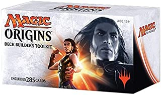 MTG Magic the Gathering Origins M16 2016 Deck Builder's Toolkit (4 Booster Packs) - Pre-Order Ships July 17th