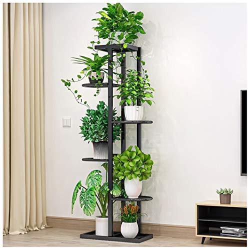 JL-GROUP Metall Blumenständer Pflanzenregal Indoor Blumenregale Für/Wohnzimmer/Schlafzimmer/Balkon (108cm Hoch)