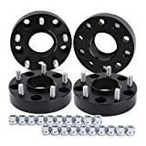 dynofit 5x5.5 Wheel Spacers for Ram 1500 2012-2018, 5x139.7 Hub Centric Spacer (Set of 4), 1.5'(38mm) 77.8mm Hub Bore M14x1.5 Forged Wheel SPACERS Do-dge Ram 1500 12-18 Pick Up Trucks(DS/DJ)