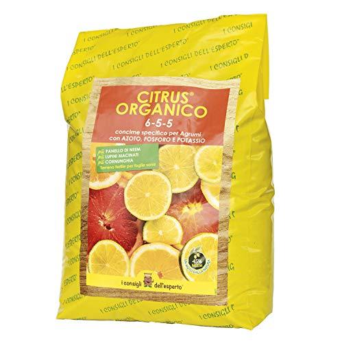 I Consigli Dell Esperto Citrus Organico Concime Organominerale Specifico per Agrumi, 5 kg