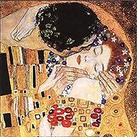 ダイヤモンド絵画クロスステッチ刺繡絵画巨大なアートグスタフクリムトダイヤモンドモザイクパターンの写真(40X50CM)