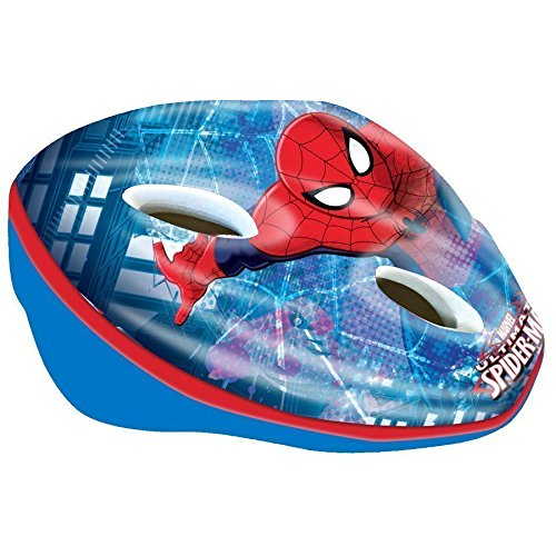 Maniatuning Marvel Spiderman - Casco de Bicicleta para niño