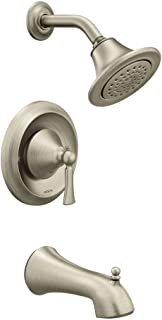 Moen T4503EPBN Wynford Posi-Temp Tub and Eco-Performance Shower Trim Kit Valve Required, Brushed Nickel