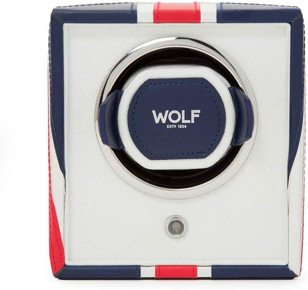 WOLF 462404 British Navigator Choice Single Flag San Antonio Mall UK Winder Watch