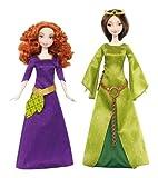 Mattel Disney Princess X5322Merida and Her Mother Queen Elinor Doll