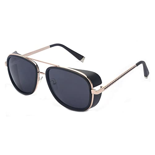 53a143c32f Outray Unisex Cover Side Shield Square Sunglasses