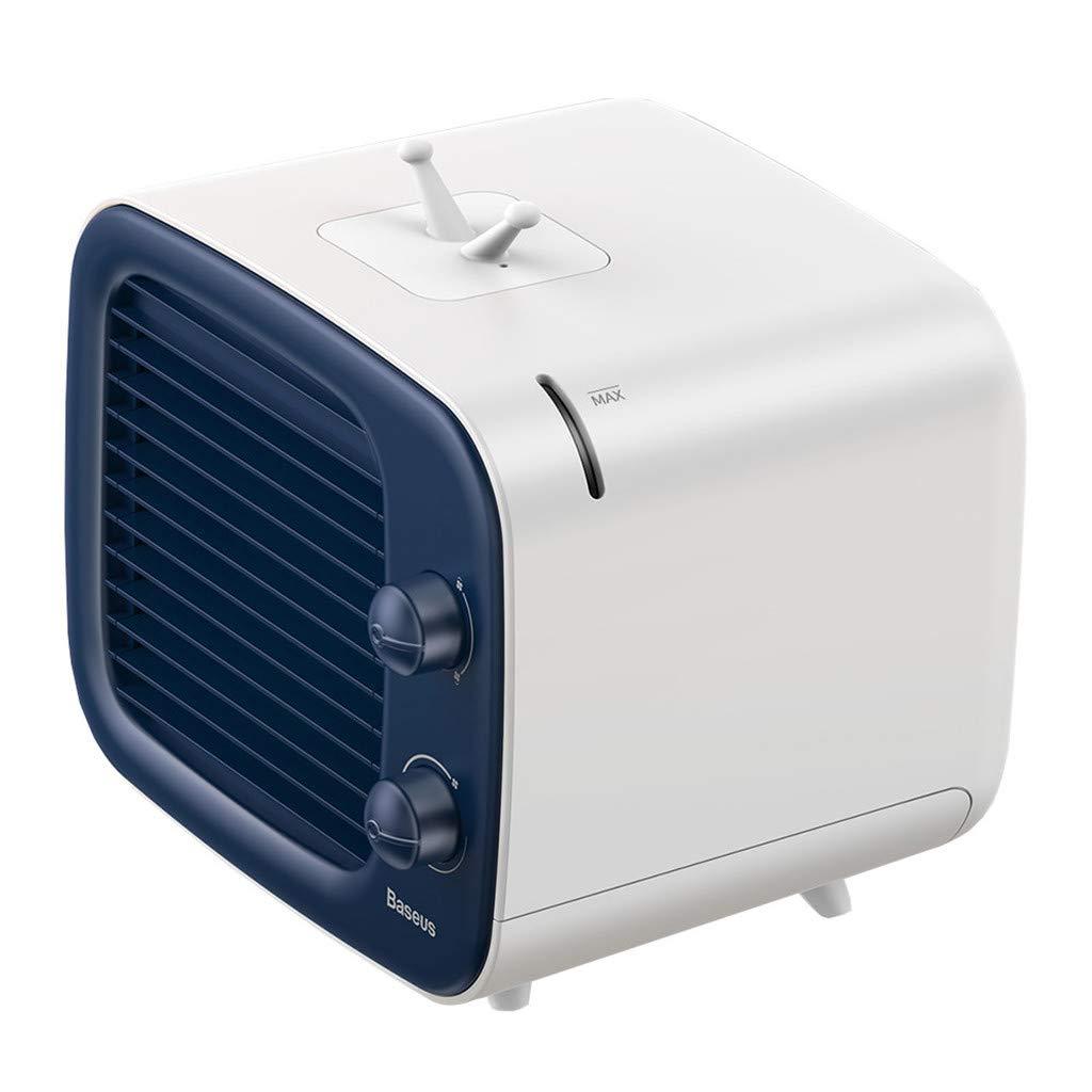 Purificador de aire 3 en 1 personal, aire acondicionado portátil, Ewendy Air Cooler, ventilador de mesa, ventilador portátil, humidificador, 3 niveles de potencia, aire acondicionado, silencioso.: Amazon.es: Hogar
