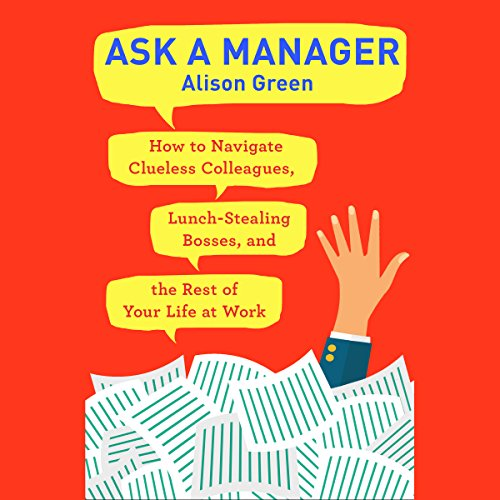 Ask a Manager audiobook cover art