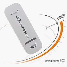TXYFYP 4G WiFi Dongle Libre, LTE / 4G 150Mbps USB Dongle con WiFi Hotspot SIM Tarjeta Ranura 4G LTE USB Módem Portátil 4G Senza Fili Router para Exterior y Interior Encendido el Autobús o Coche