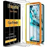 UniqueMe [4 Pack] Schutzfolie für Oneplus Nord Panzerglas, Bildschirmschutz für Oneplus Nord, HD Klar Folie Gehärtetes Glas