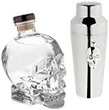 Crystal Head Vodka mit Shaker