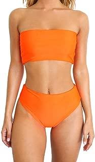 Women's Petite Swimwear Cover Ups, Women Sexy Bikini Set Print Swimwear Push-Up Padded Swimsuit