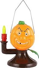 SOLUSTRE Pumkin Night Light Handheld Lanterns Hanging Light Decorative Lamp Halloween Pumpkin Lantern for Halloween Home Bar