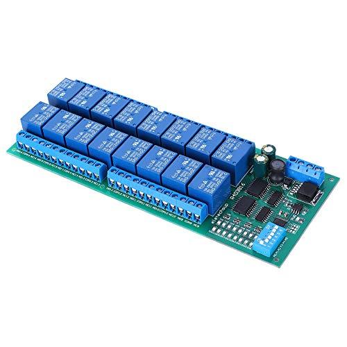 Módulo de expansión eléctrica de relé RS485 de 6 canales y seis...