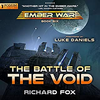 The Battle of the Void audiobook cover art