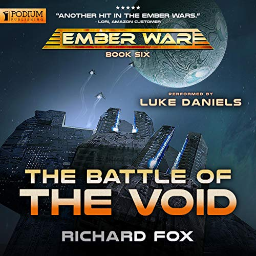 Book cover of  The Battle of the Void: The Ember War, Book 6
