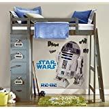 RoomMates スターウォーズ クラシック R2-D2 ピールアンドスティック ジャイアントウォールデカール [並行輸入品]