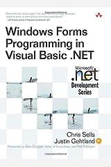 Windows Forms Programming in Visual Basic .NET Paperback