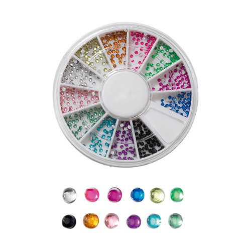 Peggy Sage - Carrousel Strass Pour Ongles Jewels 600 Pcs