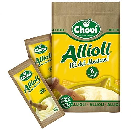 Allioli Chovi Monodosis 140 Sobres de 18 Gramos