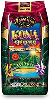 Hawaiian Gold Kona Blend Coffee, 2 Pound (Pack of 1)