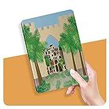 ZHOUHAOMAOYI Étui de protection pour iPad Air 4ème génération 2020 11' avec motif palmiers et...