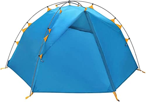 CATRP Marque De Plein Air Super Léger 1-2 Personne Imperméable Crème Solaire Loisir Camping Tente De Couple, 2 Couleurs (Couleur   bleu)