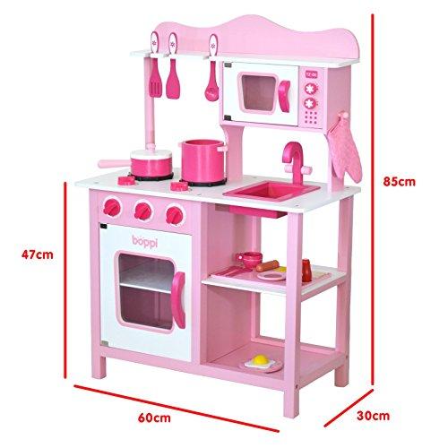 boppi® Küchenspielzeug aus Holz mit Zubehör 19-teilig - 2