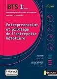 Entrepreneuriat et pilotage de l'entreprise hôtelière (EPEH) - 1re année BTS MHR