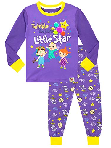Cocomelon Girls Pajamas Purple 3T