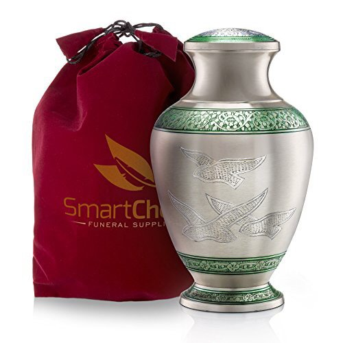Wings of Freedom Discount Brass Cremation Urn