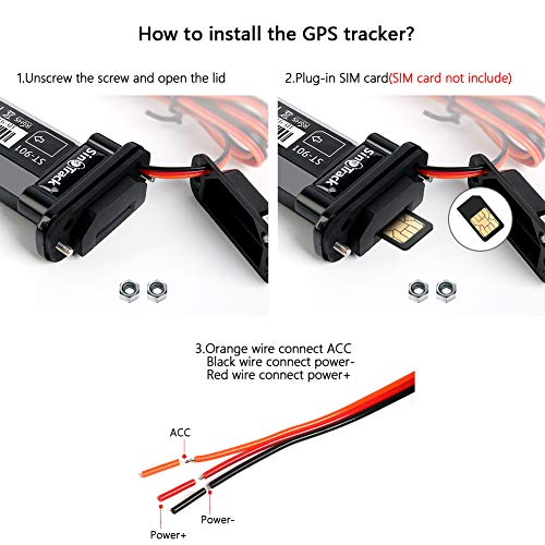 Optimus GV50MA Wired GPS Tracker for Cars and Trucks