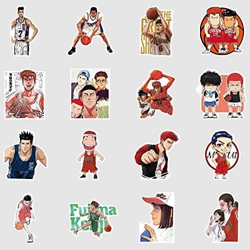 Slam Dunk Valigia Adesivo Personalità Del Fumetto Valigia Computer Portatile Scarpa Gabinetto Decorazione Sticker 50PCS