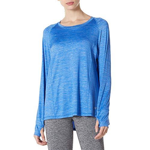 SPECIALMAGIC Camiseta deportiva para mujer, manga larga, con agujero para el pulgar,...