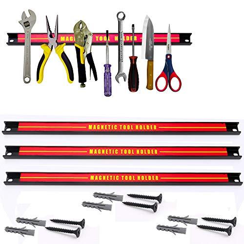 Alaskaprint 3x Magnet Werkzeugleiste Magnetisch Werkzeughalter Werkzeugholder Magnetschiene...