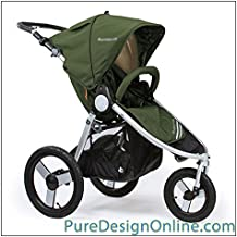 Bumbleride 2018 Speed Running Stroller, color = Camp Green