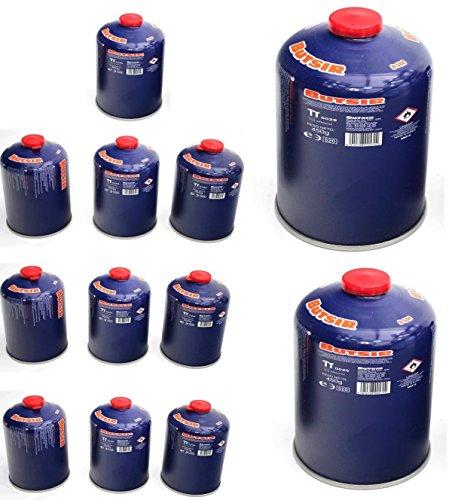 Envio 24h12 x Butsir B-500 Cartucho de Gas 450 gr – bombona perforable con limitador de Fugas – Botella Camping Gas Chollo Promocion Precio Rebaja Casi Gratis Ofertas en Amazon