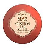 L'Oral Make Up Designer Paris Glam Bronze Cushion Solaire Fond de Teint