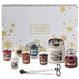 Yankee Candle Confezione Regalo Natalizia con Candele Profumate e Accessori, Angel's Wings, Bianco/Oro, 11 Pezzi
